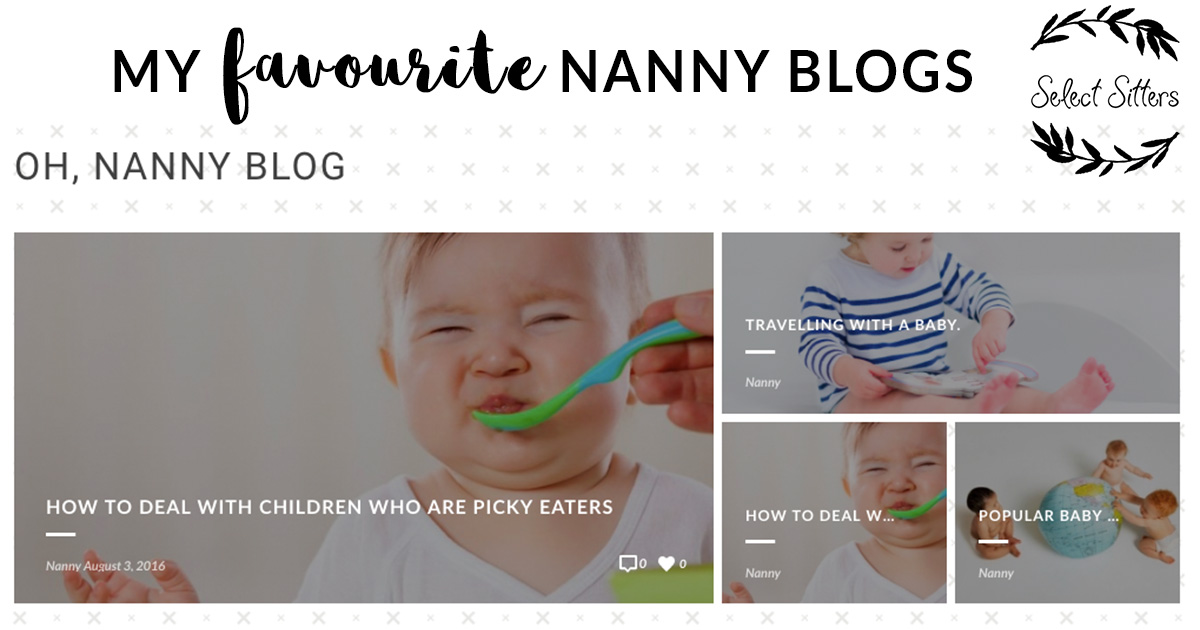 A list of my favourite nanny blogs and industry updates_Select Sitters